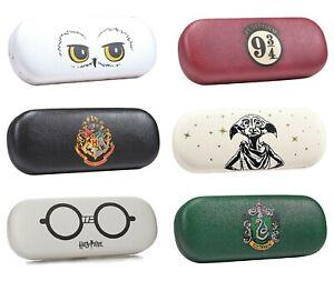 Genuine Warner Bros Harry Potter Rigid Glasses Case Hogwarts 9 3/4 Dobby Crest