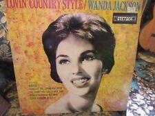 "Wanda Jackson, ""Lovin' Country Style"" (Rare UK vinyl LP)"