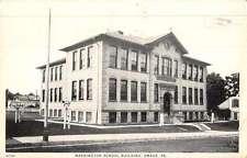 Emaus Pennsylvania Washington School Bldg Street View Antique Postcard K50069