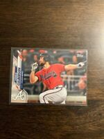 2020 Topps Advanced Stats Variation CHARLIE CULBERSON Braves 208/300 #77
