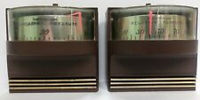 Vintage 1967 Westclox Weather Mates Barometer & Relative Humidity Devices Gauges