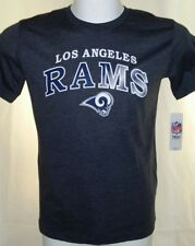 Los Angeles Rams Football Youth Kids Size X-Large 14/16 Gray T-Shirt Nwt