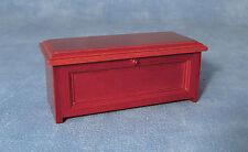 1:12 apertura in legno aperto sul petto trunk box DOLLS HOUSE miniatura Accessorio 198