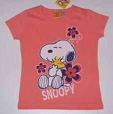 Snoopy T-shirt Apricot Gr. 128/134 *neu Etikett* 1