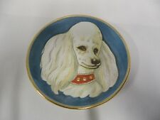 Vintage V. Tiziano Italy Dog Series Limited Edition Poodle Collector Plate (A8)