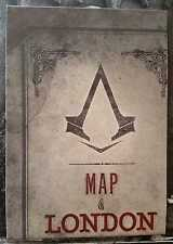 ASSASSIN'S CREED SYNDICATE POSTER & LONDON MAP from BIG BEN  EDITION