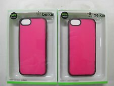 2x QUALITY BELKIN Grip Candy Sheer Case for iPhone5 & iPhone5s F8W138qeC03 [F01]