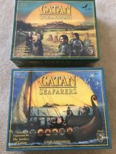 Settlers Of Catan Game Expansion Seafarers Cities & Knights New Sealed 2007