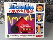 1988# Console Tomy Voice Change Console Boxed Rare#NRFB 5024