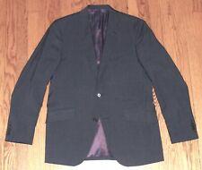 "TED BAKER London ""Endurance"" Navy Mod Pinstripe Wool Suit Jacket/Blazer US 40R"