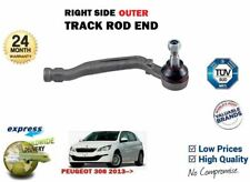 FOR PEUGEOT 308 + SW 2013->NEW 1X OUTER RIGHT SIDE STEERING RACK TRACK ROD END