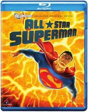 All-Star Superman [2 Discs] [Blu-ray/DVD (2011, REGION A Blu-ray New) BLU-RAY/WS