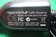 TomTom USB LT Traffic Receiver Car Charger VIA 1400 1405 1435 4UUC5B TMC-RDS OEM