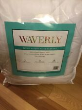Waverly Down Alternative Blanket seasons All Year collection down King New white