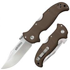 CS31A Cold Steel Bush Ranger CPM-S35VN Brown G10 Handle Tri-Ad Lock Clip