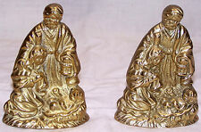 Metal (Not sure what but very heavy) Holy Family Bookends