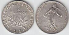Gertbrolen 2 Francs Argent Type Semeuse 1918 Qualité Superbe++ Exemplaire N° 1