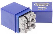 Schlagstempel Schlagzahlen 10 mm DIN 1451 Einschlagzahlen Punze Punziereisen BGS