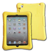 Shockproof Silicone Kid Case for iPad mini Generations 1,2, 3, 7.9 inch, Yellow