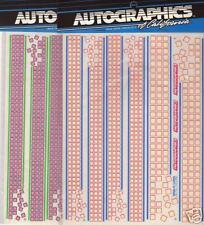 NOS. Autographics of California R//C #721 Black Decals