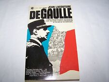 DEGaulle by Jean Lacouture First Printing 1968 Paperback