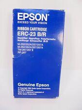 Epson ERC-23 Ribbon Cartridge Black/Red