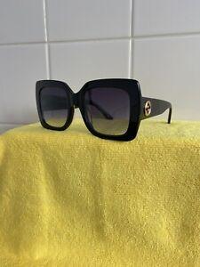 Oversizd Black Gucci Sunglasses