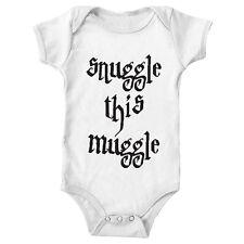 Harry Potter Snuggle Muggle Onesie creeper Baby newborn 6 12 18 month months