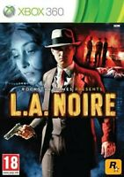 LA Noire The naked City Edition XBOX 360 Video Game Original UK Release