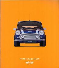 Rover Mini 1996-99 UK Market Sales Brochure 1.3i & 1.3i Cooper