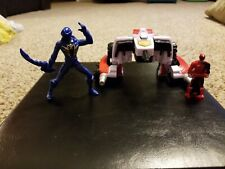 Delta Runner Zord w/ Blue Ranger Figure Power Rangers Super Megaforce 2014