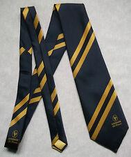 Vintage Tie MENS Necktie Crested Club Association Society COURAGE