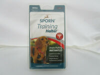 Dog Halter Sporn NO PULL HALTER  Training Halter  (small black )