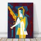 "JUAN GRIS Art - Pierrot CANVAS PRINT 10x8"" - Cubist, Cubism, Guitar"