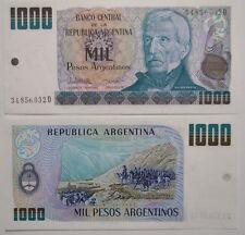 Argentina, Argentina, 1000 Pesos Argentinos type Gral San Martin UNC