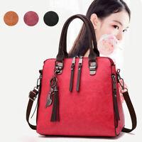 Women Faux Leather Shoulder Bags Handbag Messenger Crossbody Satchel Tote Purse