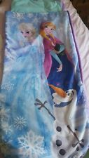 Junior inflatable Ready Bed Frozen Anna Elsa girl 3-10yrs