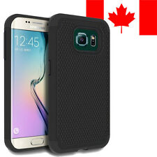 HARD + SOFT RUBBER SHOCKPROOF CASE COVER SHIELD FOR SAMSUNG GALAXY S6 EDGE
