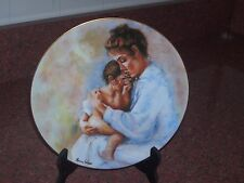 Limoge France Plate Laura And Child 1975