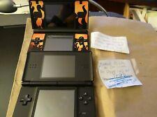 Nintendo DS Lite (Lot of 2) Sold As Is *Read Description*  1 BLUE 1 BLACK FLAMES