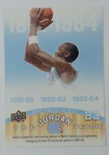 2011-12 Upper Deck The Jordan Years Michael Jordan #171, UNC Tarheels, HOF