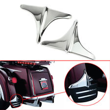 Chrome Rear Fender Accents Leading Front Edge Trim For Harley Touring 2009-2017