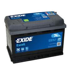 EXIDE EB741 BATTERIA AUTO EXCELL 74AH 680EN DI SPUNTO 12V OEM POSITIVO SX