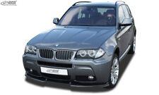 BMW X3 E83 M-Styling  (2006+) Front Splitter Bumper Lip Spoiler