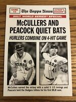 McCullers/Peacock 2018 Topps Heritage World Series Game 3 Astros #164   *5891*