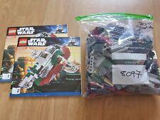 Lego Star Wars 8097 Slave I complet Boba Fett B Han Solo