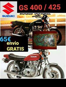 SUZUKI GS425 JUEGO JUNTAS ATHENA P400510850402 COMPLETO