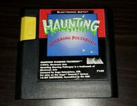 Haunting Starring Polterguy Rare Authentic Sega Genesis Game Works Perfect