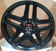 20 Rims Fit Mercedes ML 350 ML 300 AMG Black RIMS GL350 450 GL550 GLK 5x112