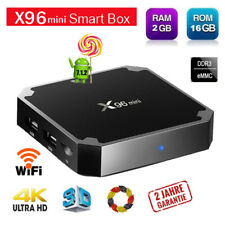 Android 7.1 X96Mini Smart TV BOX 2+16Go QuadCore 4K Media PC Player H.265 WIFI